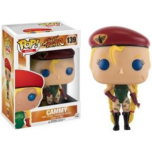 Funko POP! Games Street Fighter Cammy Figure